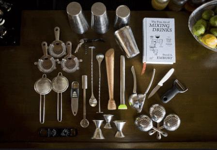 matériel de bar
